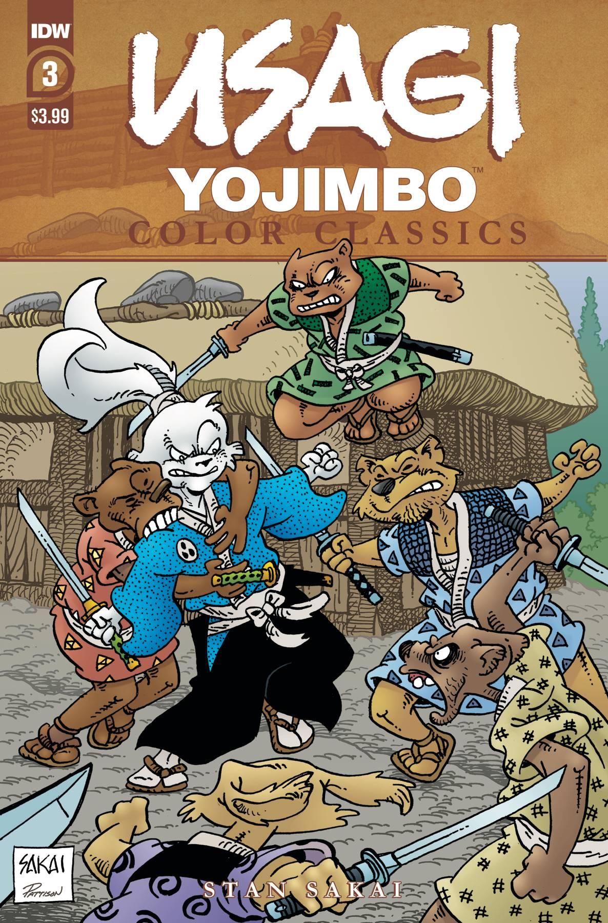 Usagi Yojimbo: Color Classics #3 (2020)