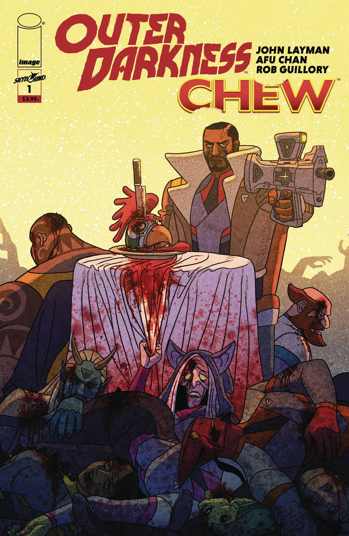 Outer Darkness/Chew #1 (2020)