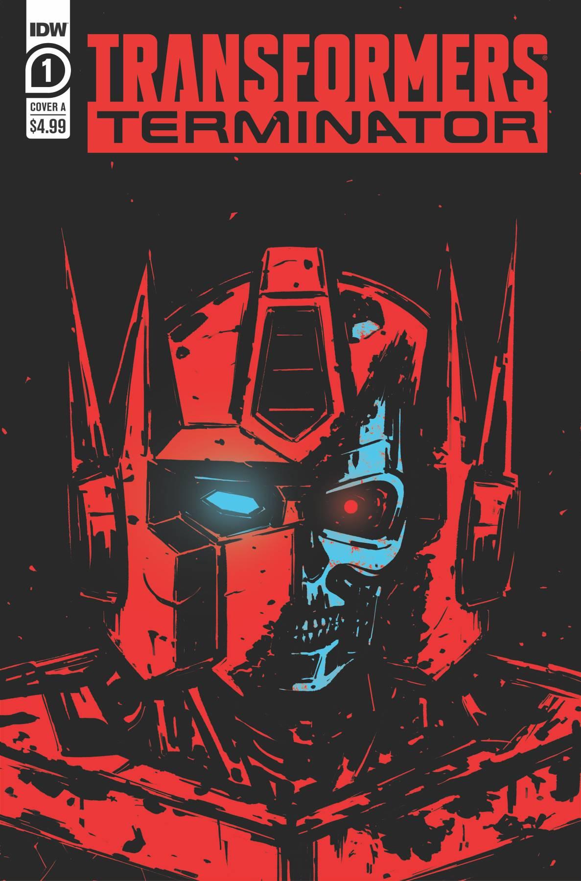 Transformers Vs The Terminator #1 (2020)