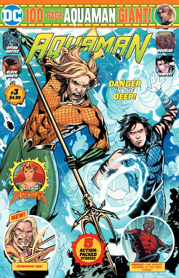 Aquaman 100-Page Giant (Walmart) #3 (2020)