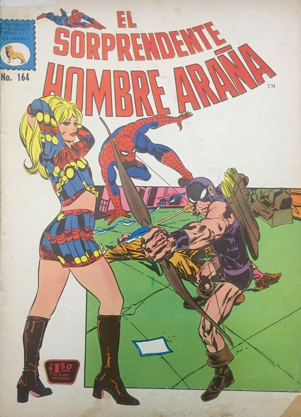 El Sorprendente Hombre Araña #164 (1973)