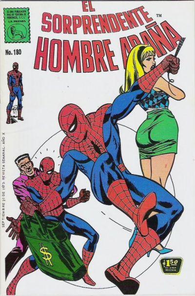 El Sorprendente Hombre Araña #180 (1973)