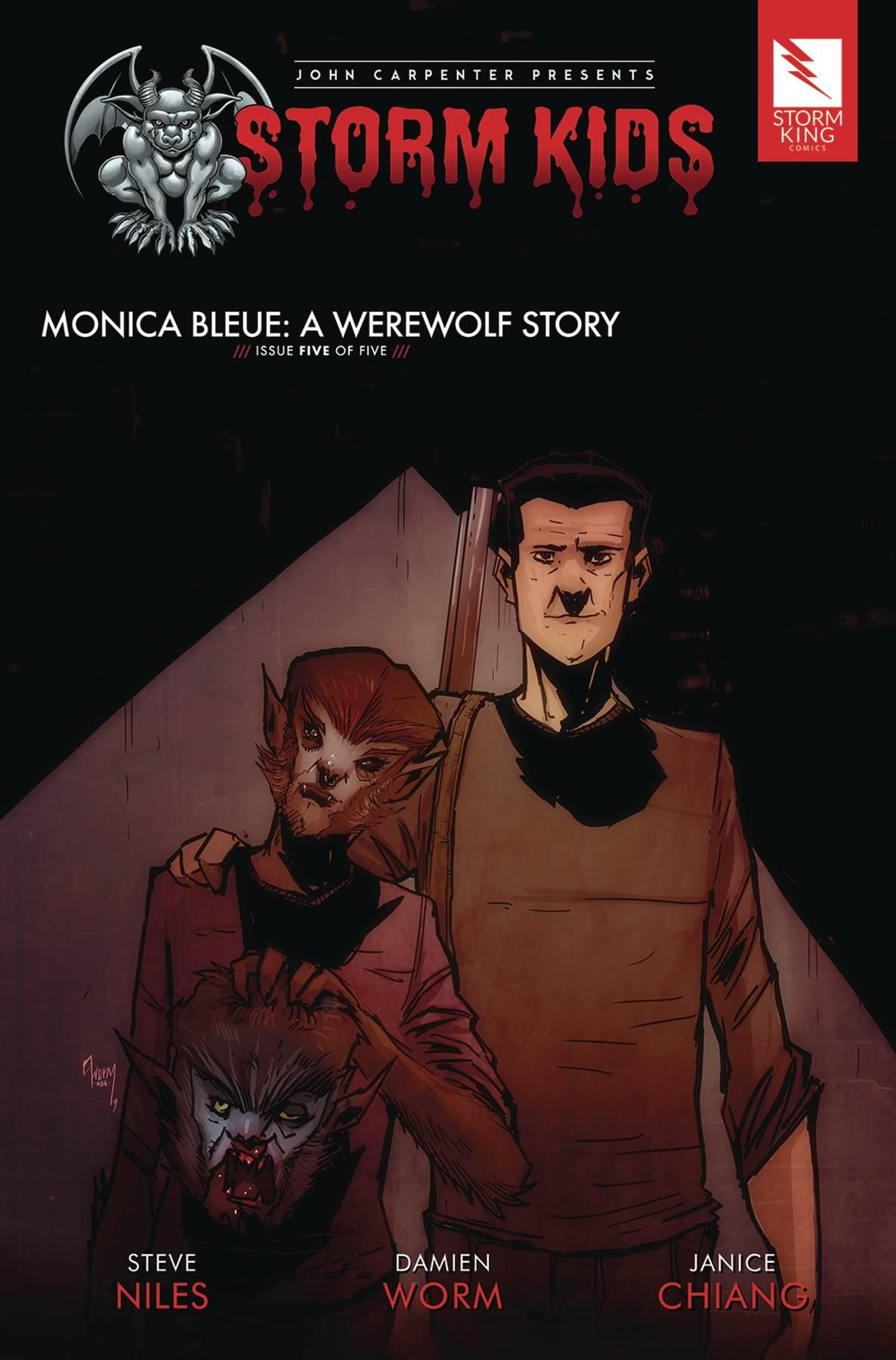 Storm Kids: Monica Bleue - A Werewolf Story #5 (2020)