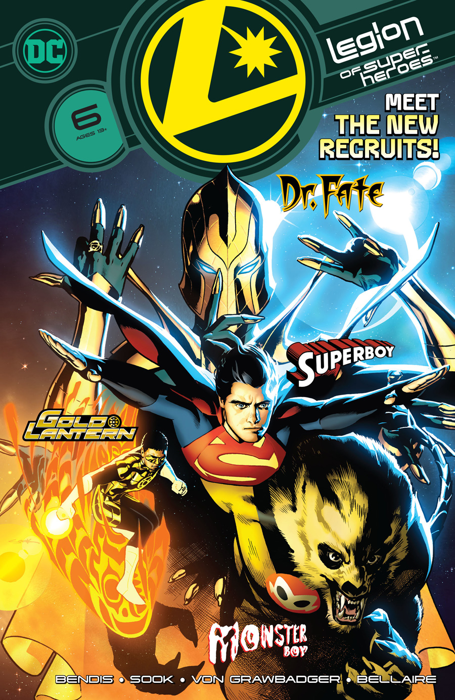 Legion Of Super Heroes #6 (2020)