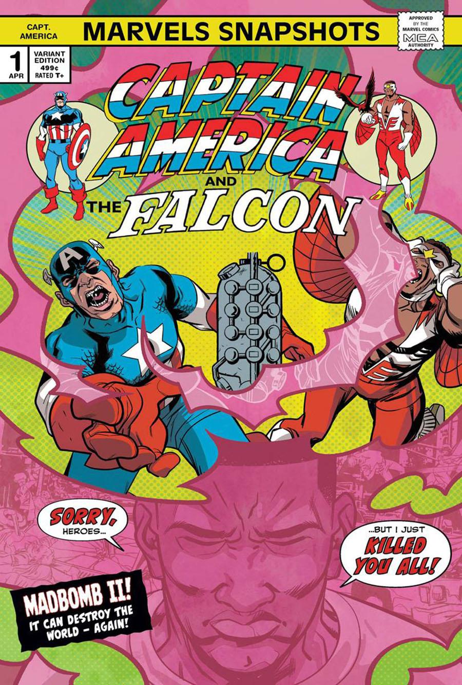 Captain America: Marvels Snapshot #1 (2020)