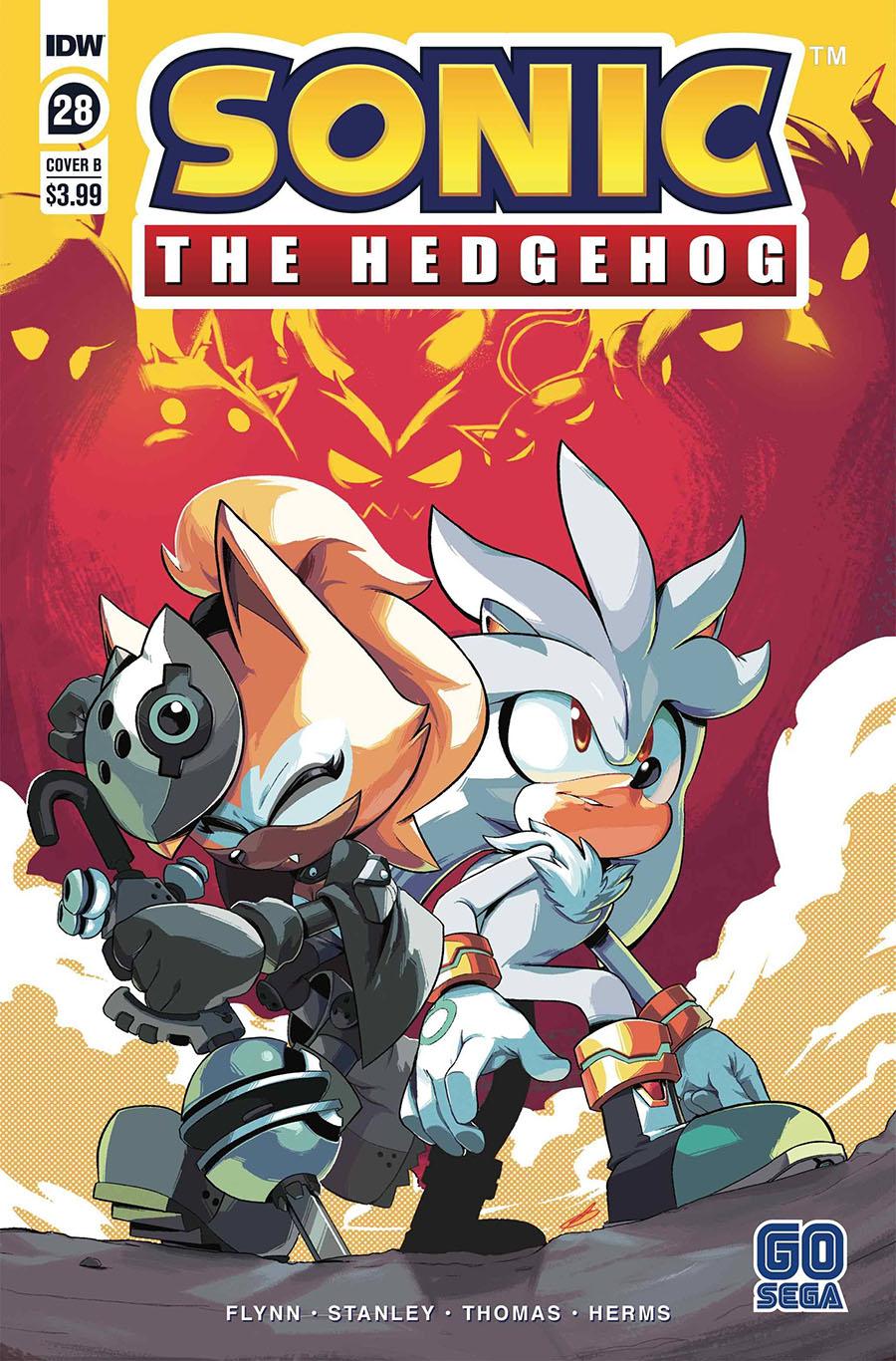 Sonic The Hedgehog #28 (2020)