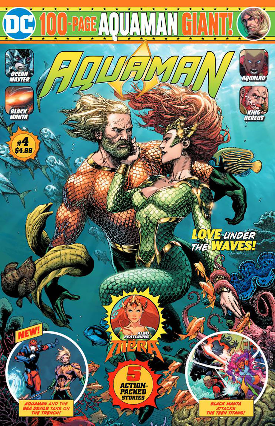 Aquaman 100-Page Giant (Walmart) #4 (2020)