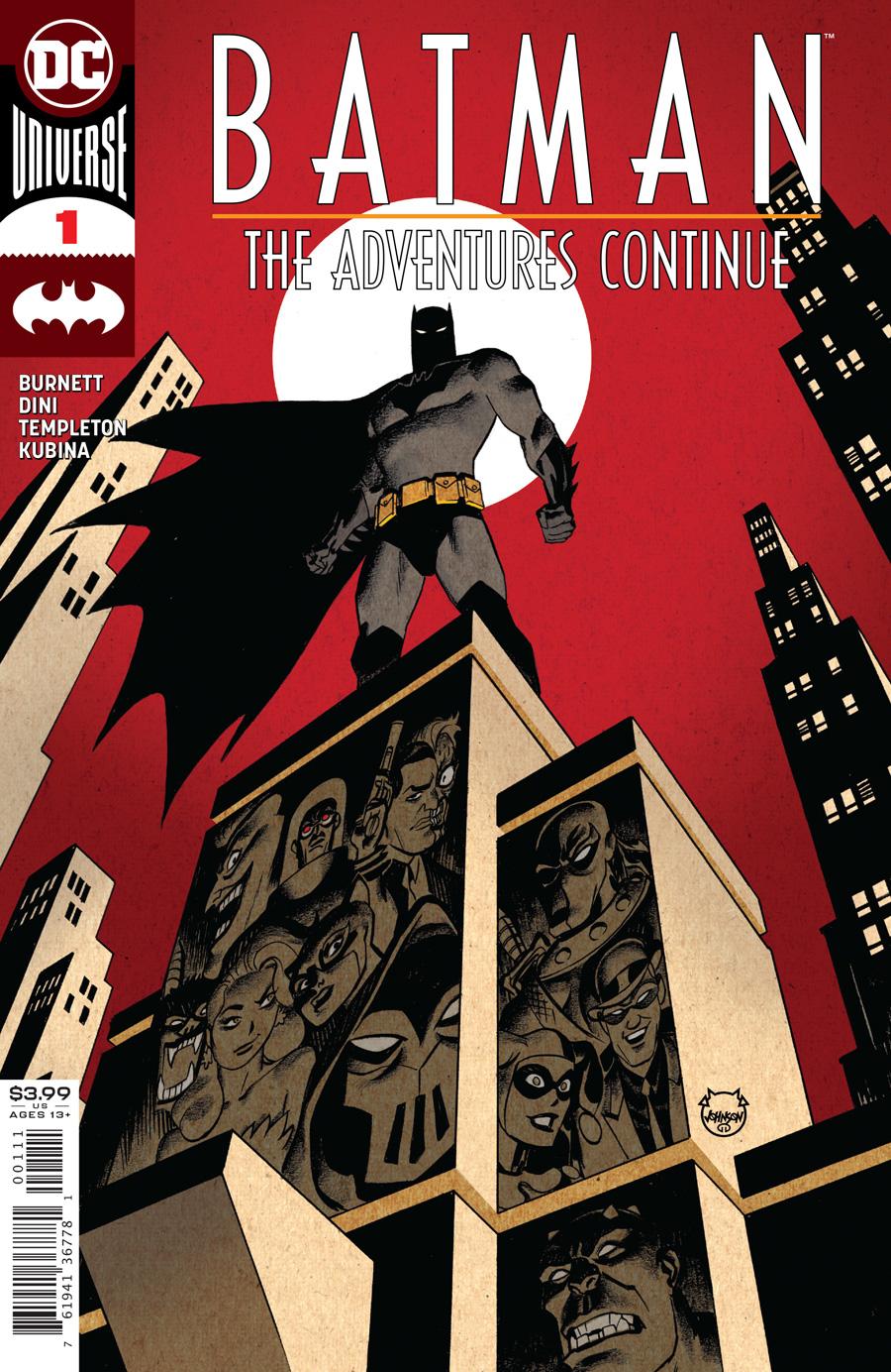 Batman: The Adventures Continue #1 (2020)