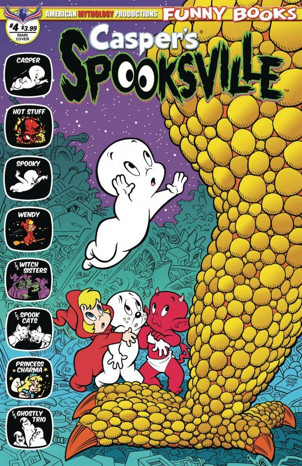 Casper's Spooksville #4 (2020)