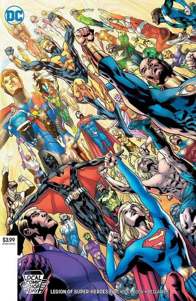 Legion Of Super Heroes #1 (2019)
