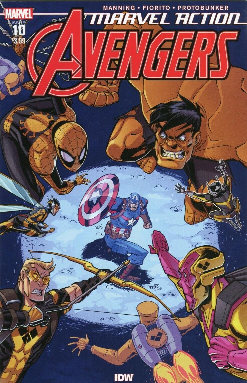Marvel Action: Avengers #10