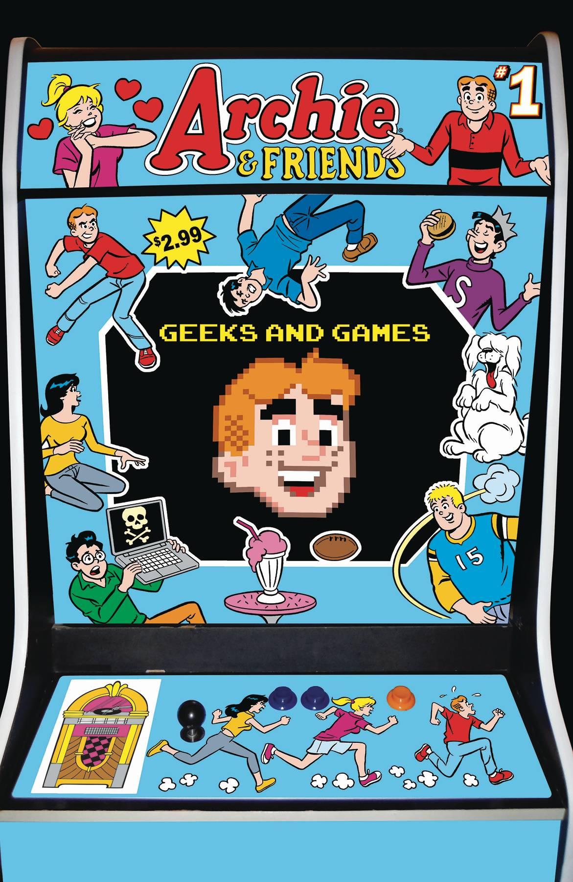 Archie & Friends: Geeks & Games #1 (2020)