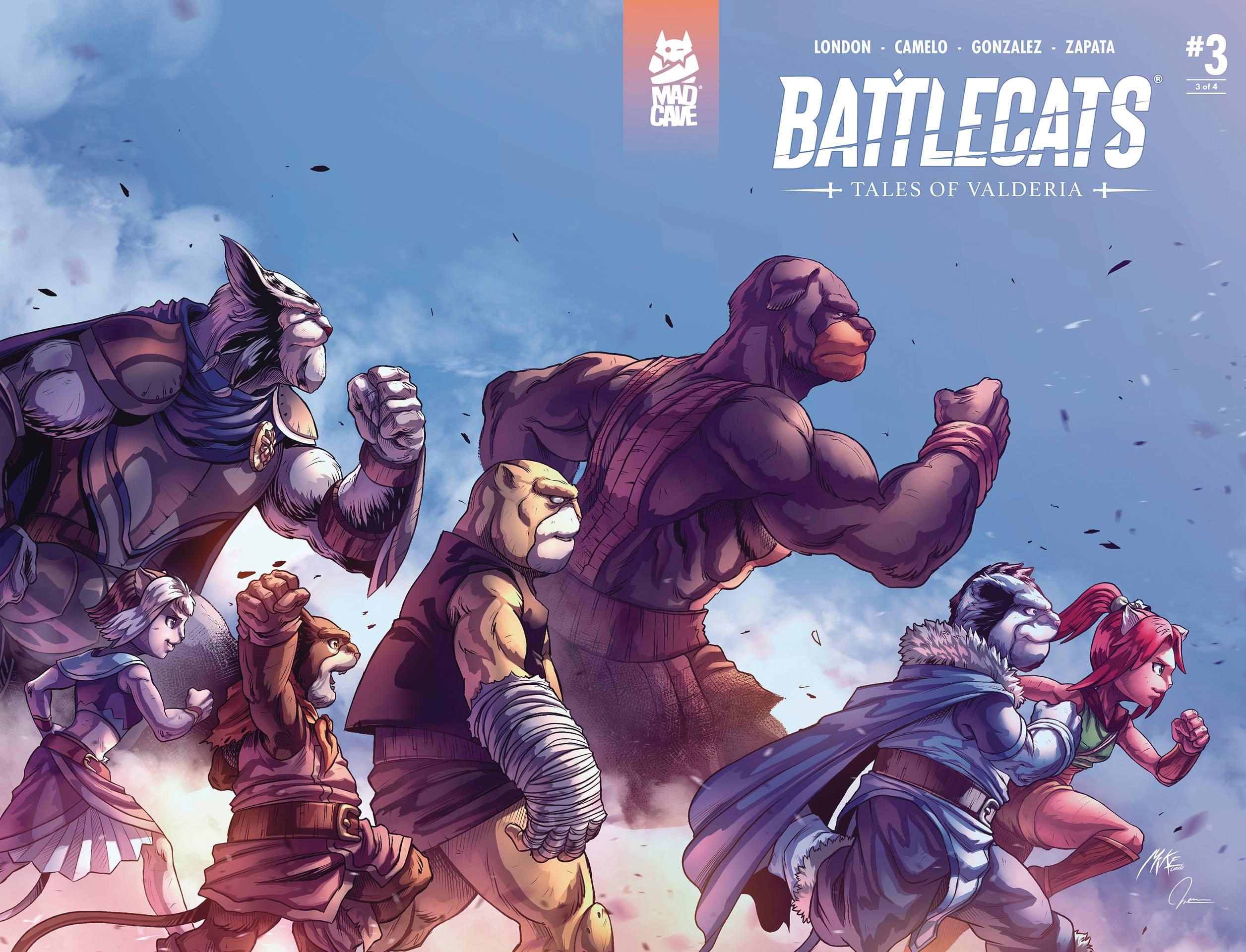 Battlecats: Tales Of Valderia #3 (2020)