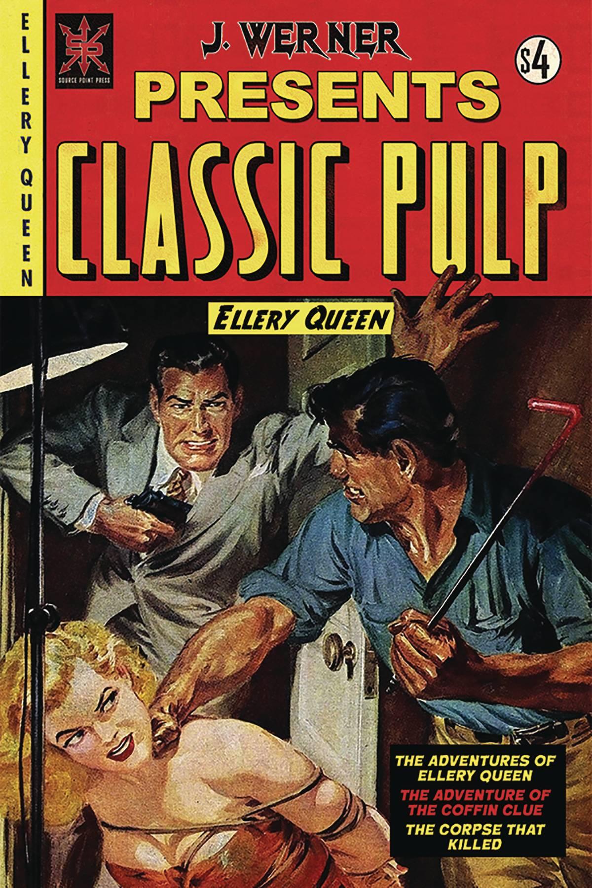 Classic Pulp: Ellery Queen (Oneshot) #1 (2020)
