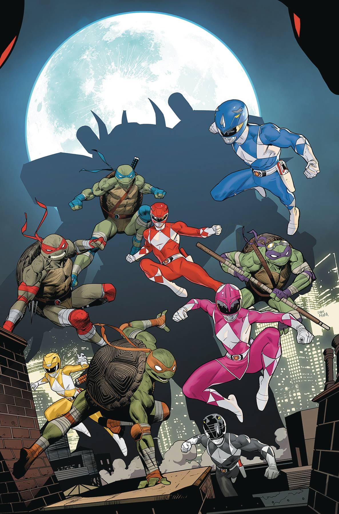 Mighty Morphin Power Rangers Teenage Mutant Ninja Turtles #5 (2020)