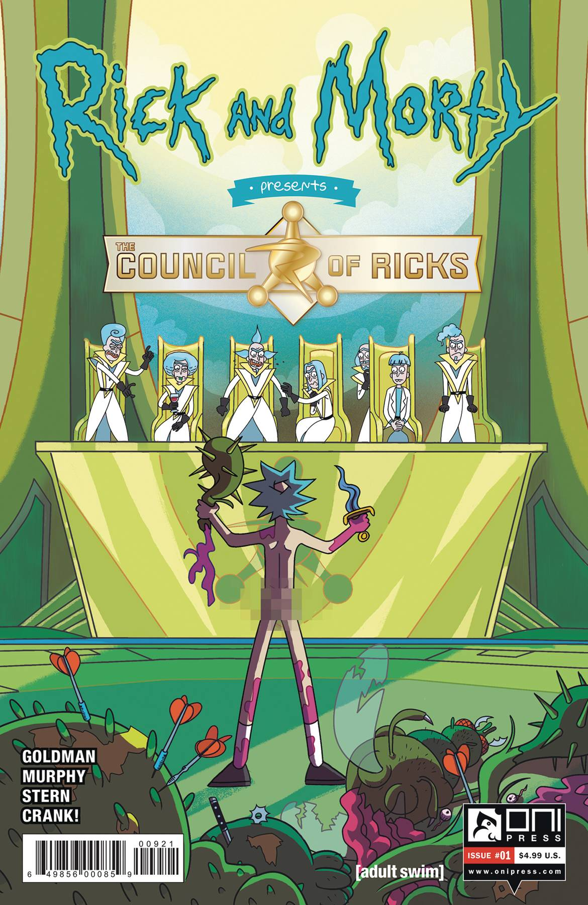 Rick And Morty Presents: The Council Of Ricks #1 (2020)