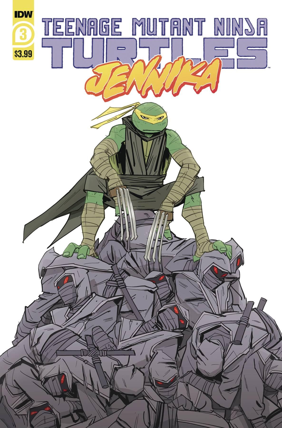 Teenage Mutant Ninja Turtles: Jennika #3 (2020)