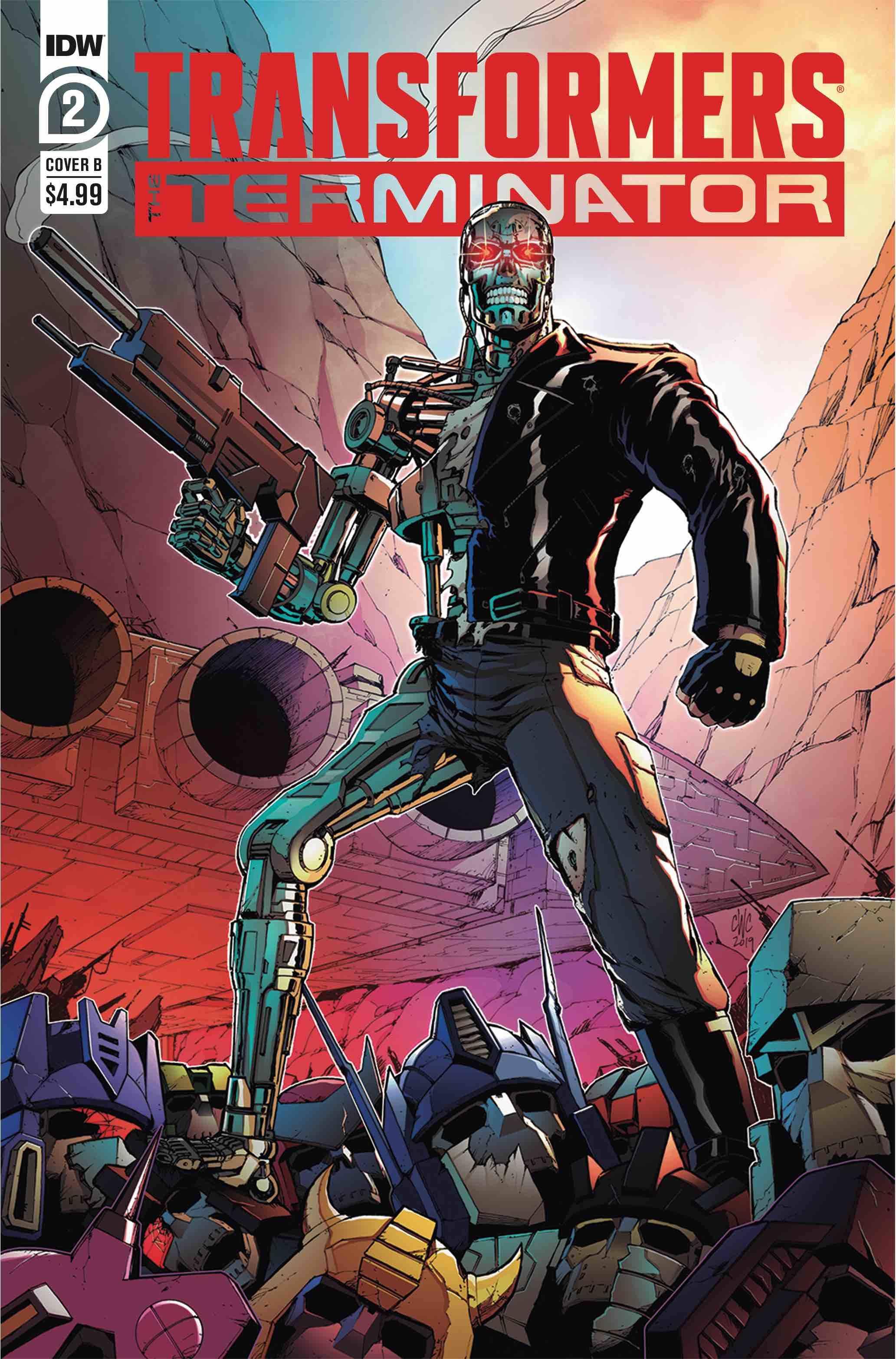 Transformers Vs The Terminator #2 (2020)