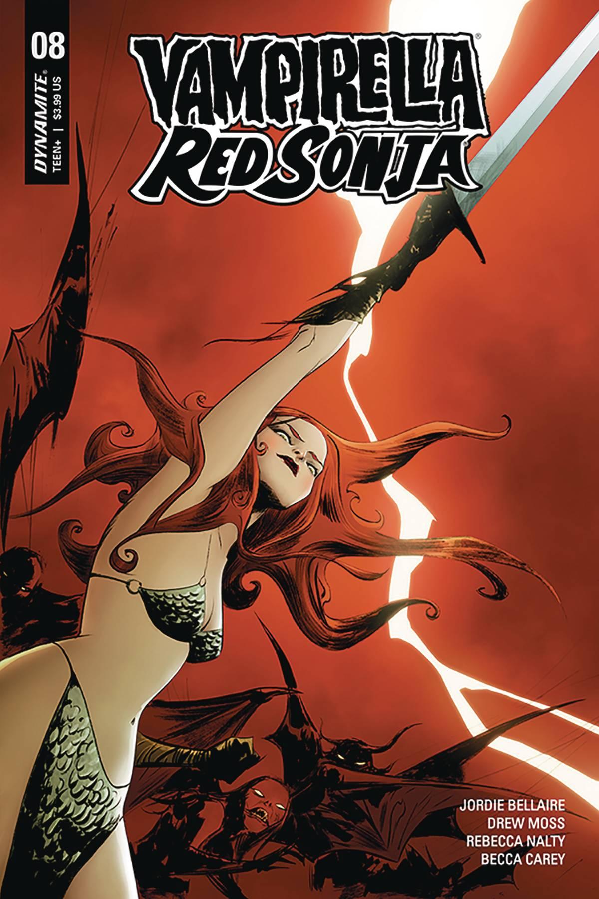 Red Sonja / Vampirella #8 (2020)