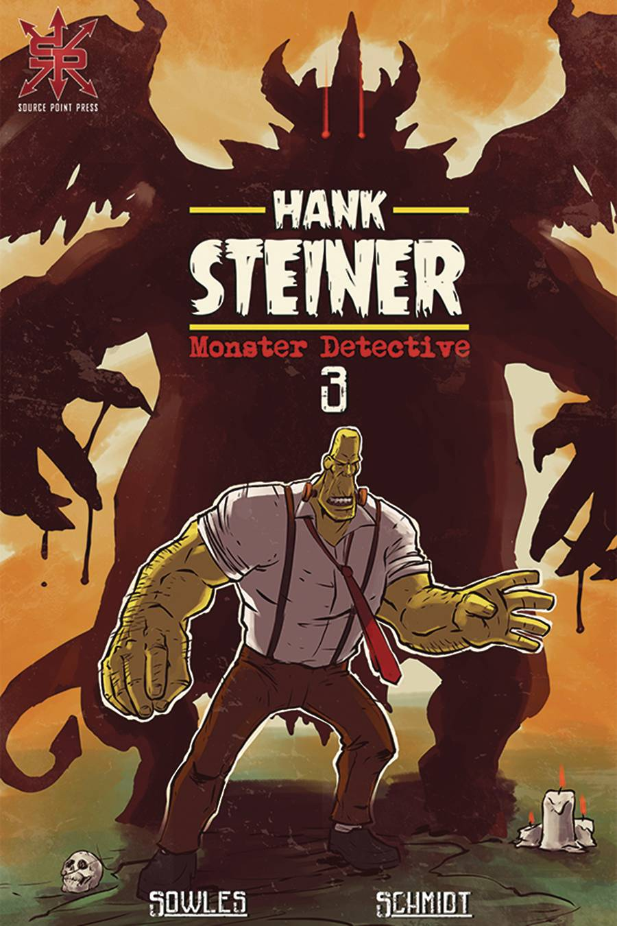 Hank Steiner: Monster Detective #3 (2020)
