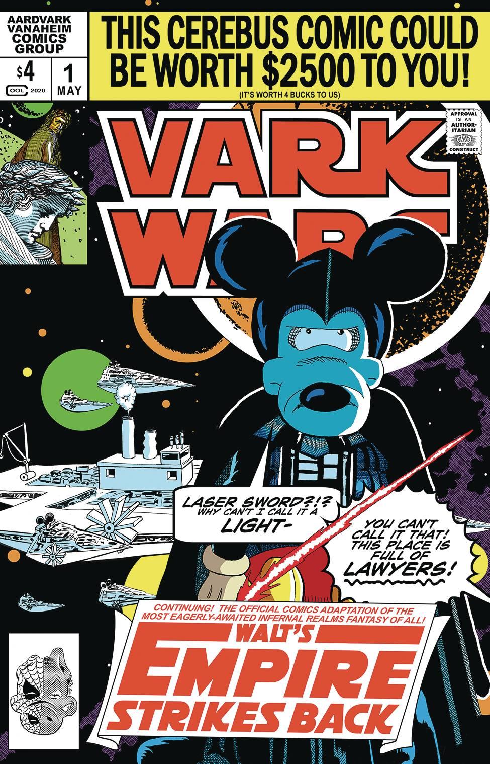 Vark Wars: Walt`s Empire Strikes Back (One Shot) #1 (2020)