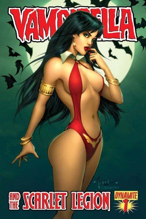 Vampirella and the Scarlet Legion #1 (2011)
