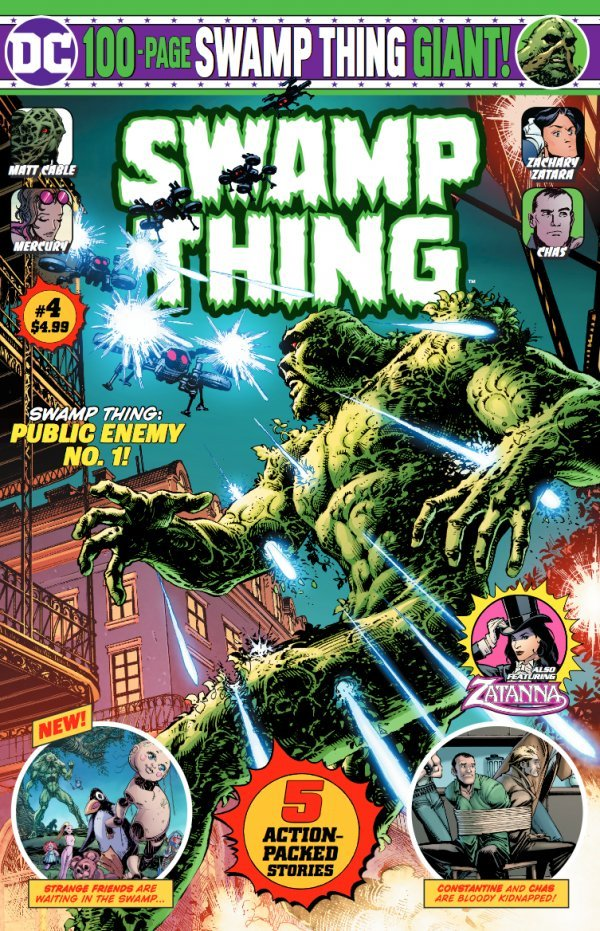 Swamp Thing 100-Page Giant (Walmart) #4 (2020)