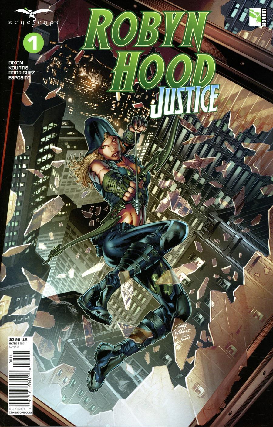 Robyn Hood: Justice #1 (2020)