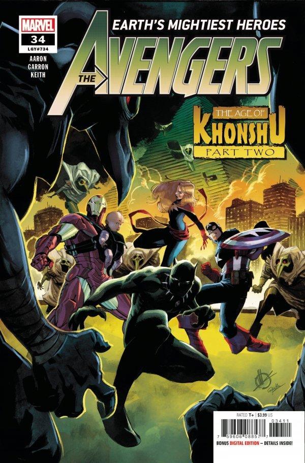 Avengers: Earth's Mightiest Heroes #34 (2020)