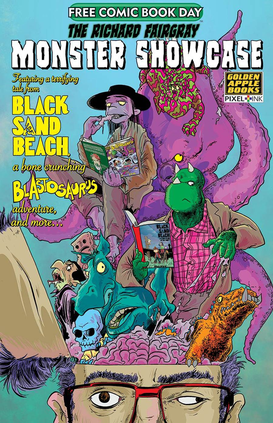 FCBD 2020 Richard Fairgray Monster Showcase #1 (2020)