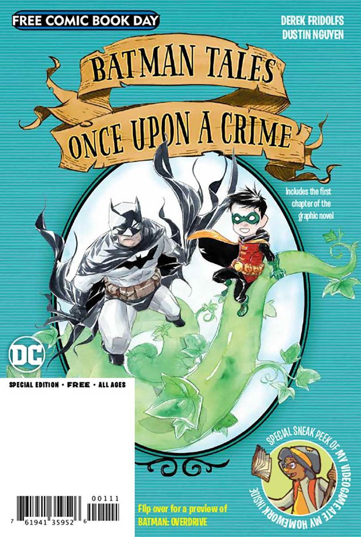 FCBD Batman Overdrive / Batman Tales Once Upon A Crime #1 (2020)