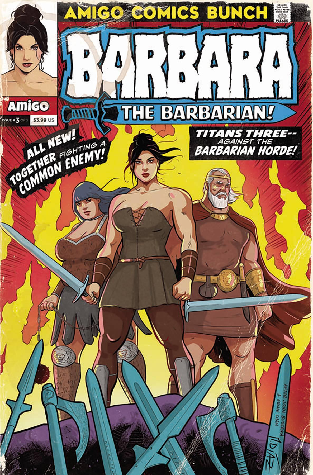 Barbara The Barbarian #3 (2020)