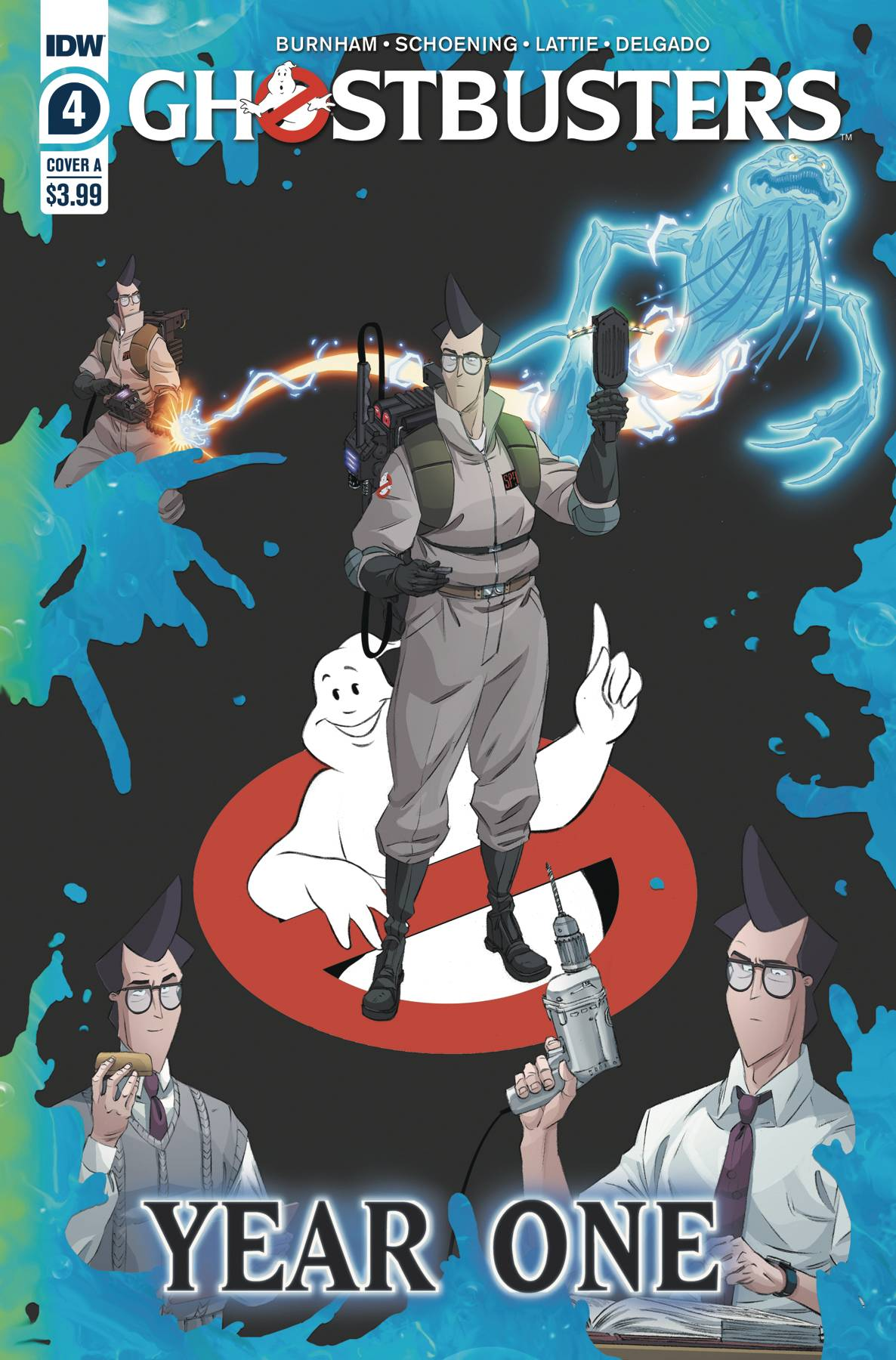 Ghostbusters: Year One #4 (2020)