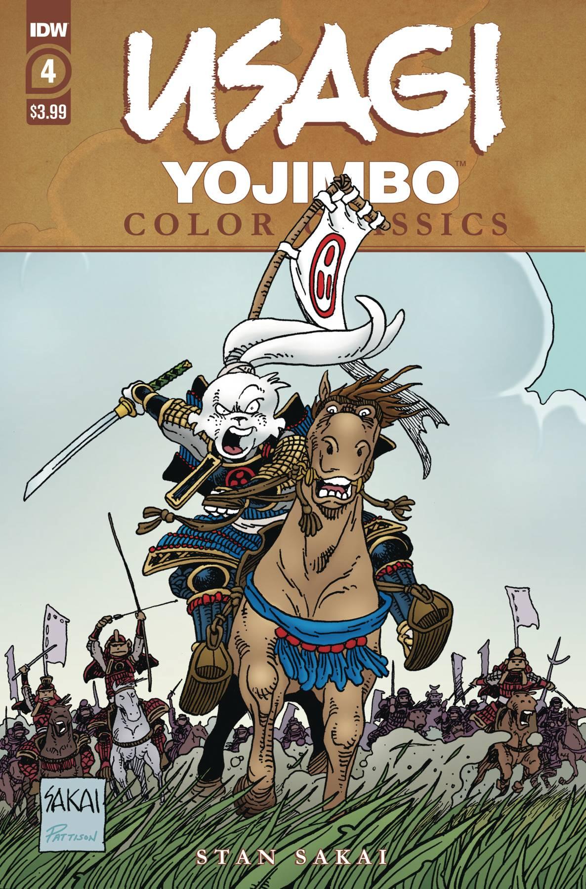Usagi Yojimbo: Color Classics #4 (2020)
