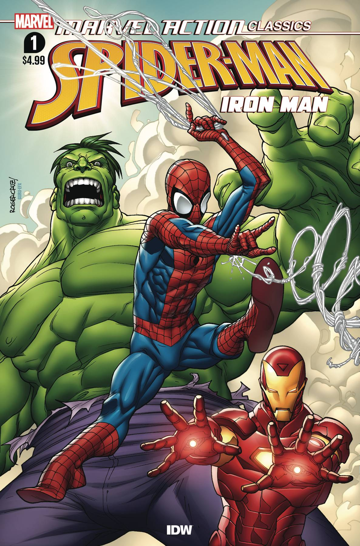 Marvel Action Classics: Avengers Starring Iron Man #1