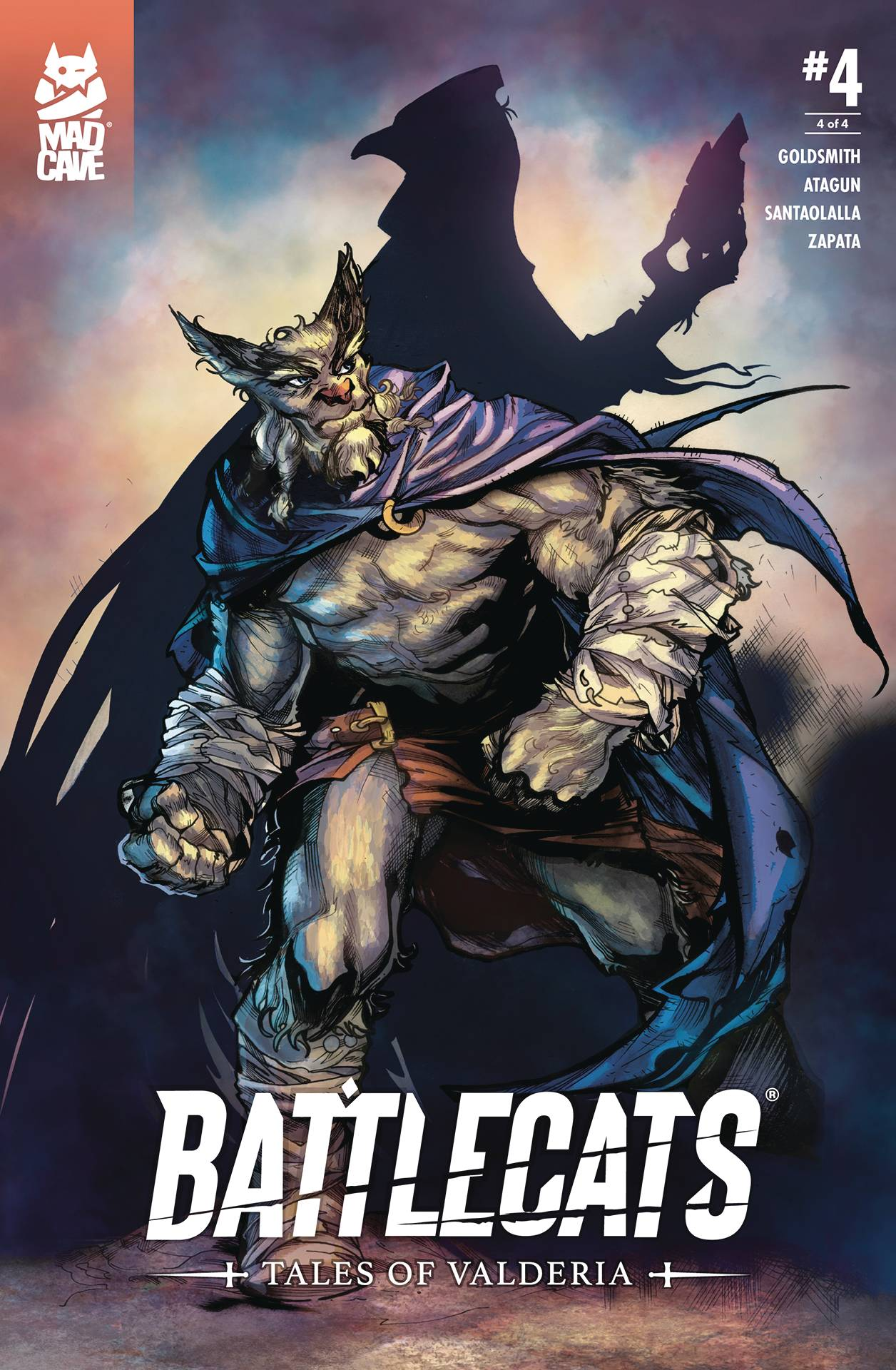 Battlecats: Tales Of Valderia #4 (2020)