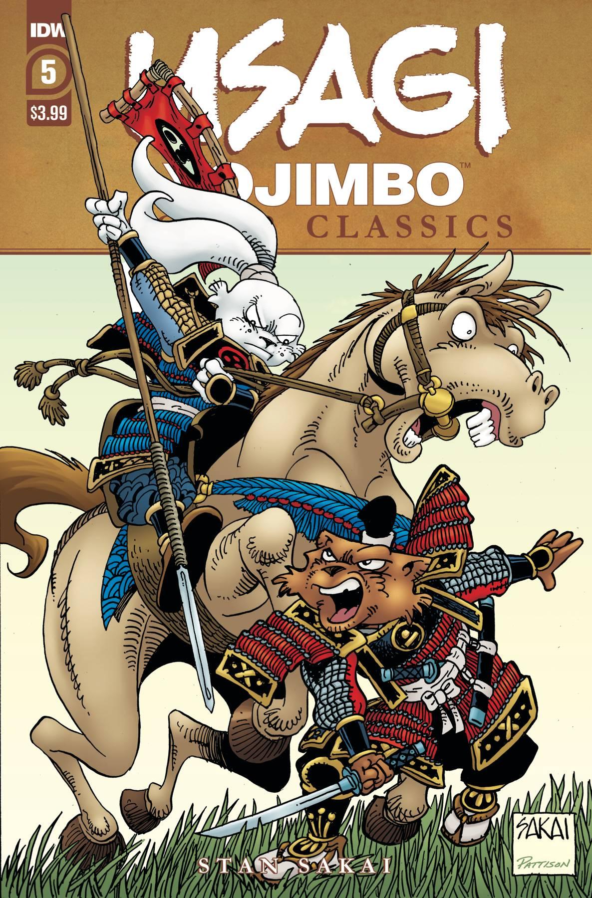 Usagi Yojimbo: Color Classics #5 (2020)
