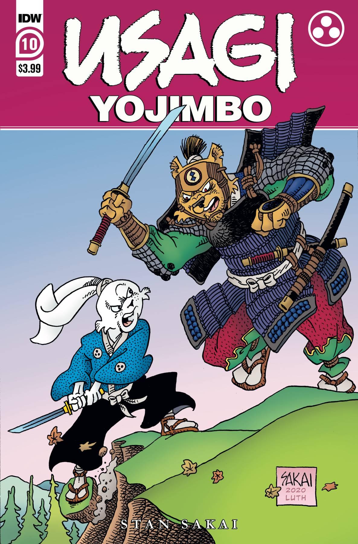 Usagi Yojimbo #10 (2020)