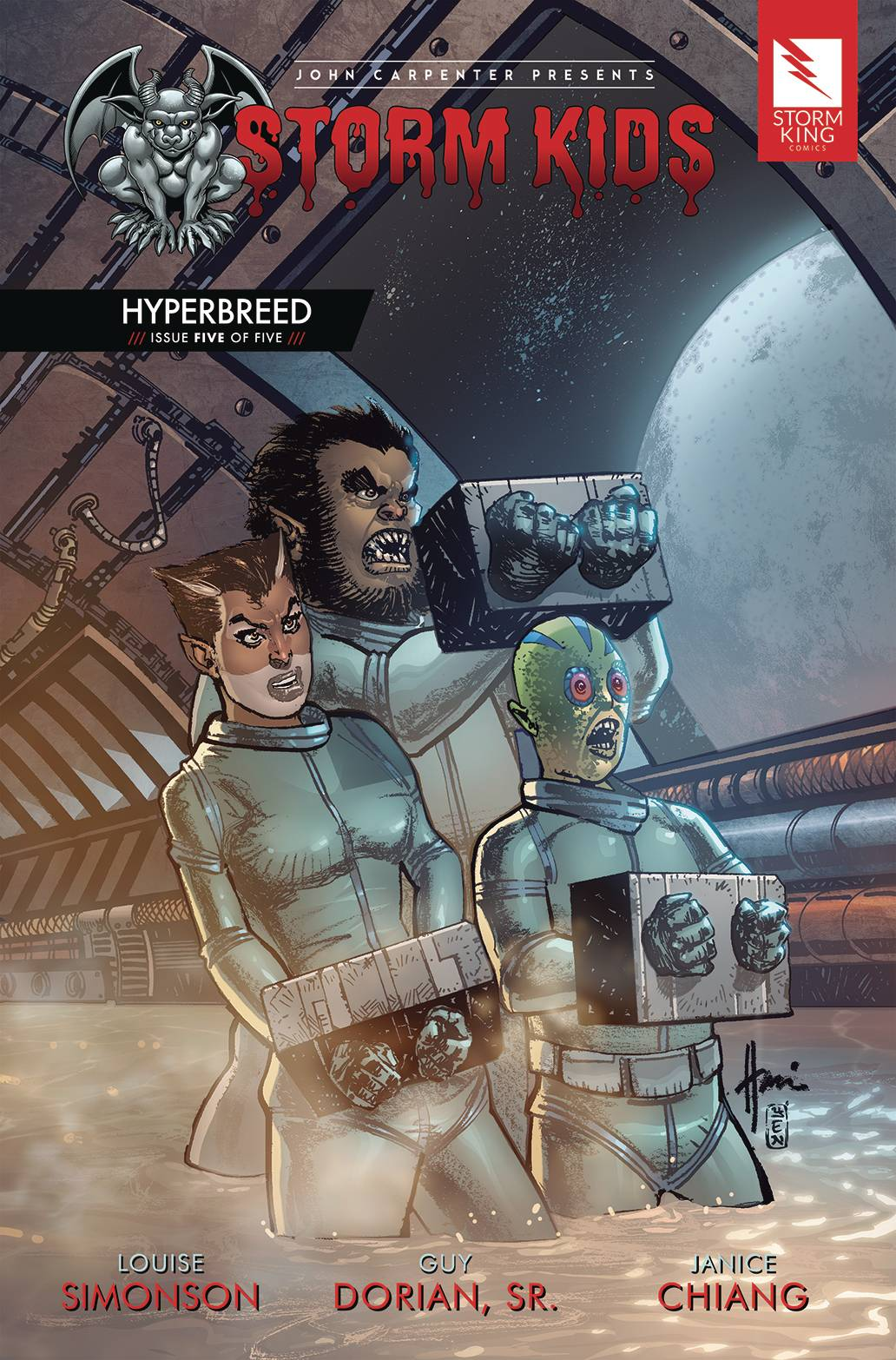 Storm Kids: Hyperbreed #5 (2020)