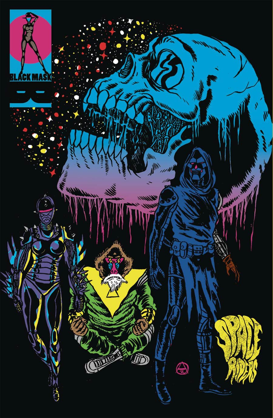 Space Riders: Vortex Of Darkness #2 (2020)