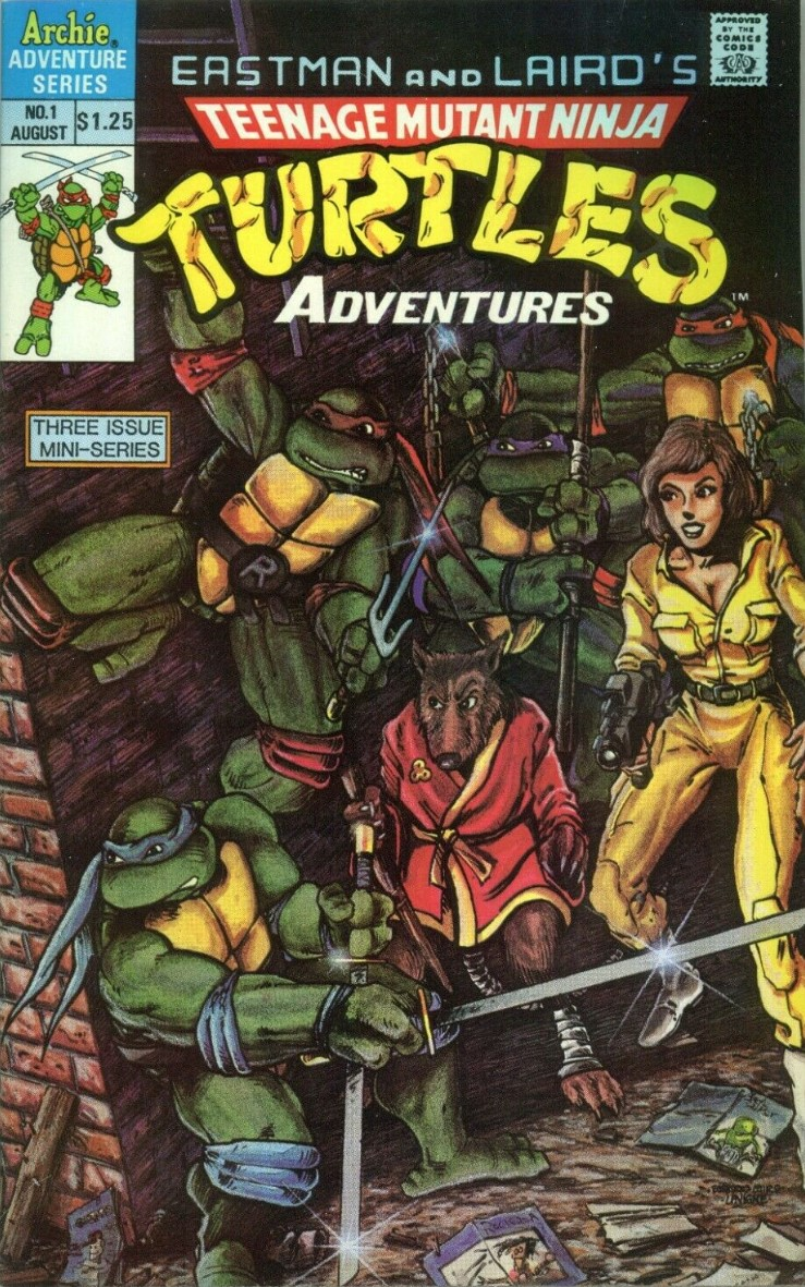 Teenage Mutant Ninja Turtles Adventures #1 (1988)