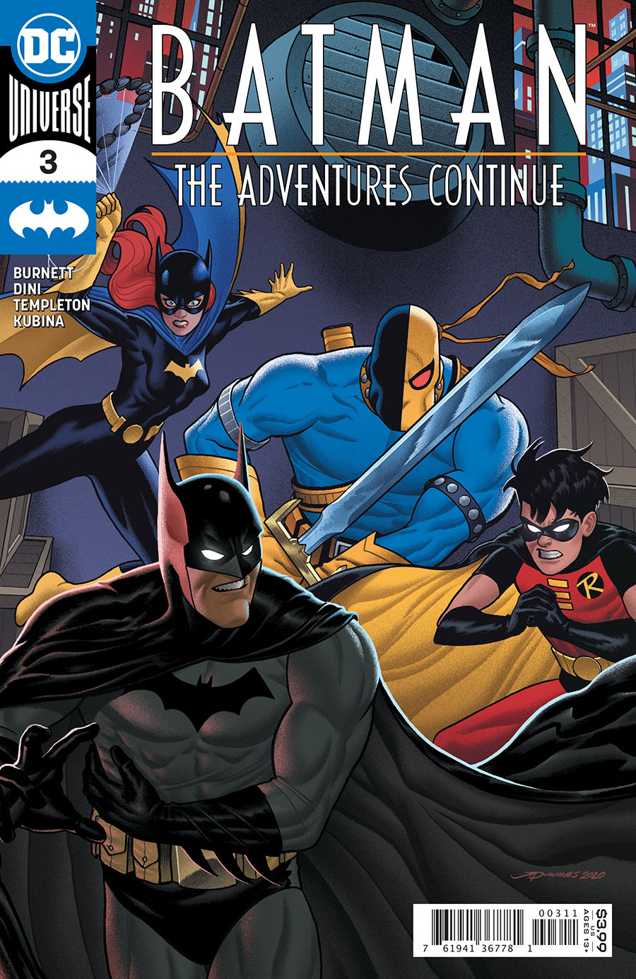 Batman: The Adventures Continue #3 (2020)