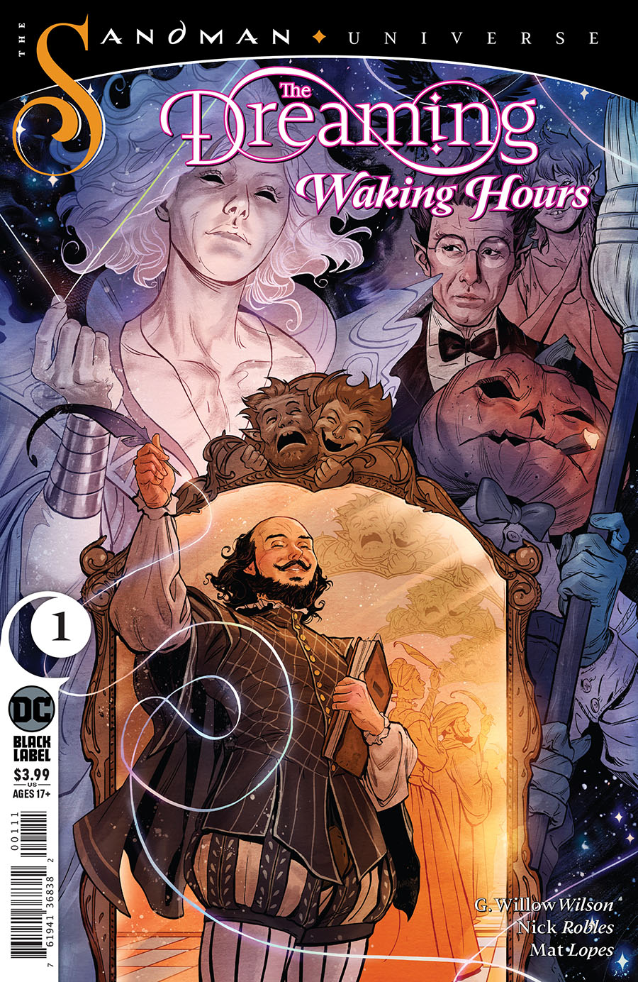 Dreaming Waking Hours #1 (2020)