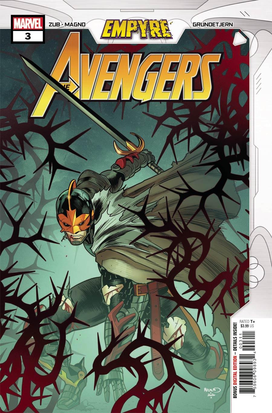 Empyre: Avengers #3 (2020)
