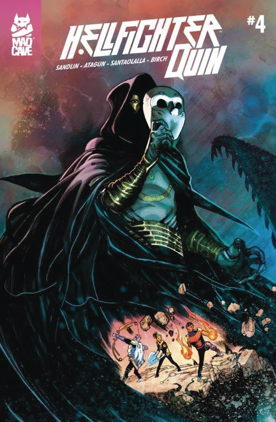 Hellfighter Quin #4 (2020)