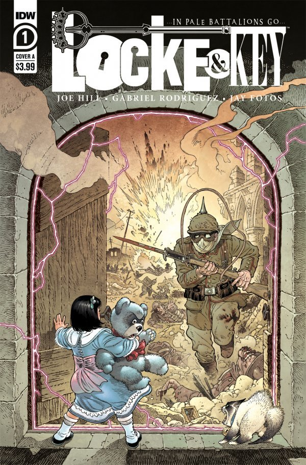 Locke & Key: In Pale Battalions Go #1 (2020)