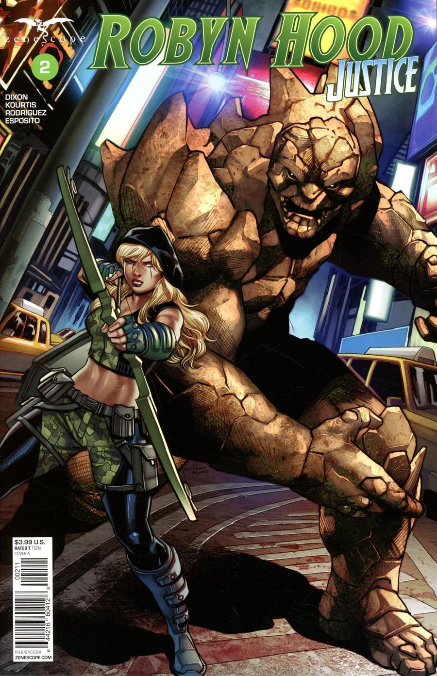 Robyn Hood: Justice #2 (2020)