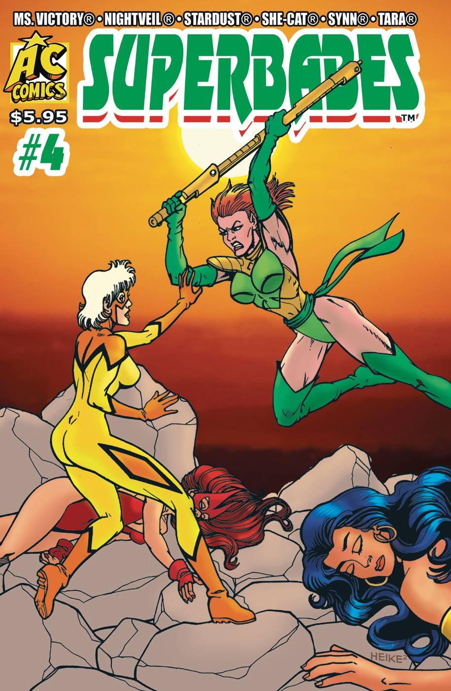 Superbabes: Starring Femforce #4