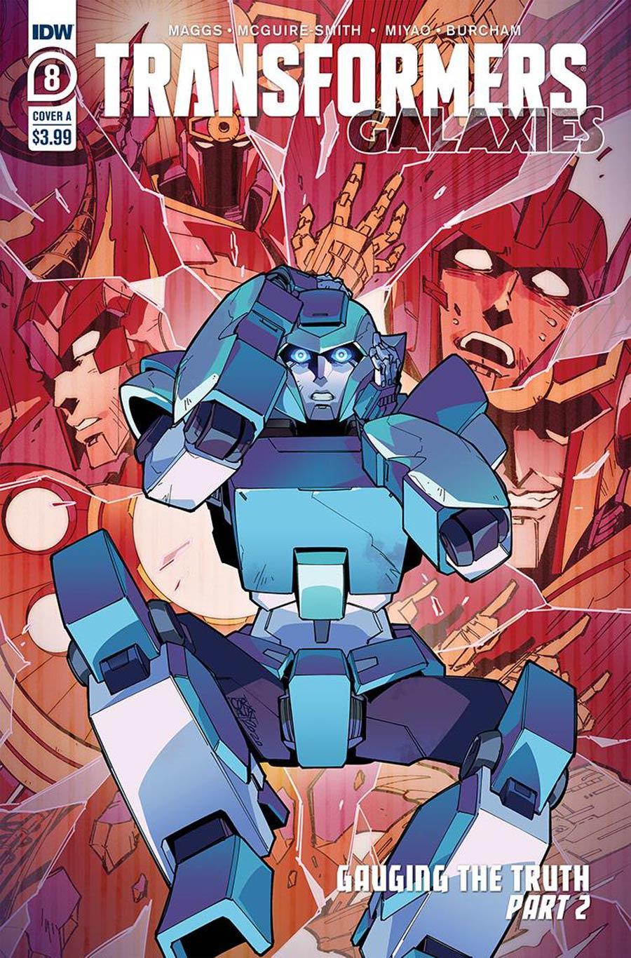Transformers: Galaxies #8 (2020)