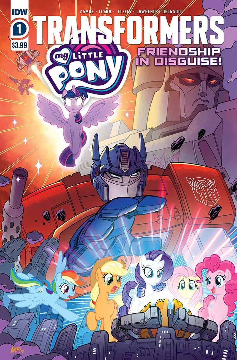 Transformers/My Little Pony: Friendship in Disguise #1 (2020)
